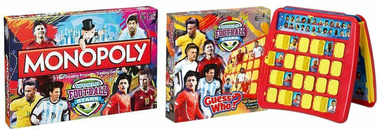 World Football Stars - Monopoly & Guess Who