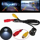 Rear Car Reversing View Camera Backup Parking 8LED IR Night Vision Waterproof UK