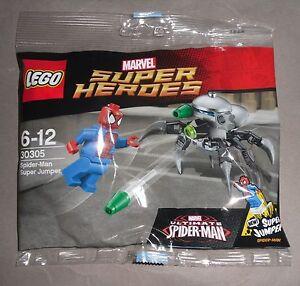 LEGO-Polybag-30305-SPIDER-MAN-Super-Jumper-Marvel-Comics-Super-Heroes-New-Sealed