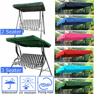 2-3-Seater-Waterproof-Swing-Chair-Cover-Canopy-Replacement-Courtyard-Outdoor
