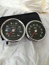 1970-74 Triumph T120 / TR6 / T140 / TR7 Smiths 150MPH Speedometer / Tachometer