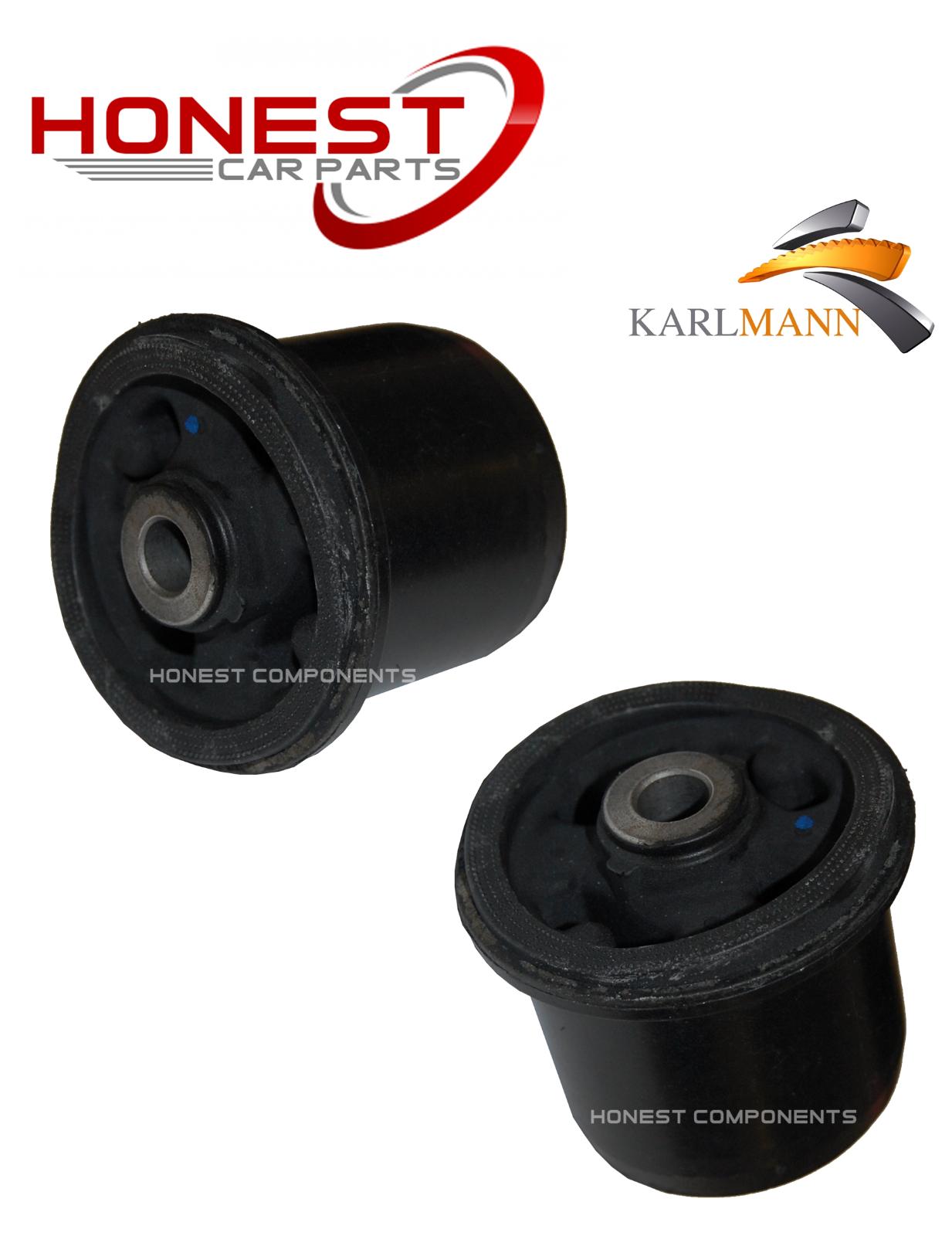 For NISSAN NOTE E11 2005-2012 REAR SUSPENSION AXLE MOUNTING BUSH X1 Karlmann
