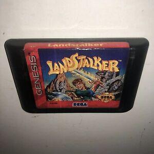 AUTHENTIC-Sega-Genesis-LANDSTALKER-Game-Cartridge-Tested-amp-Working-SAVES-Fun
