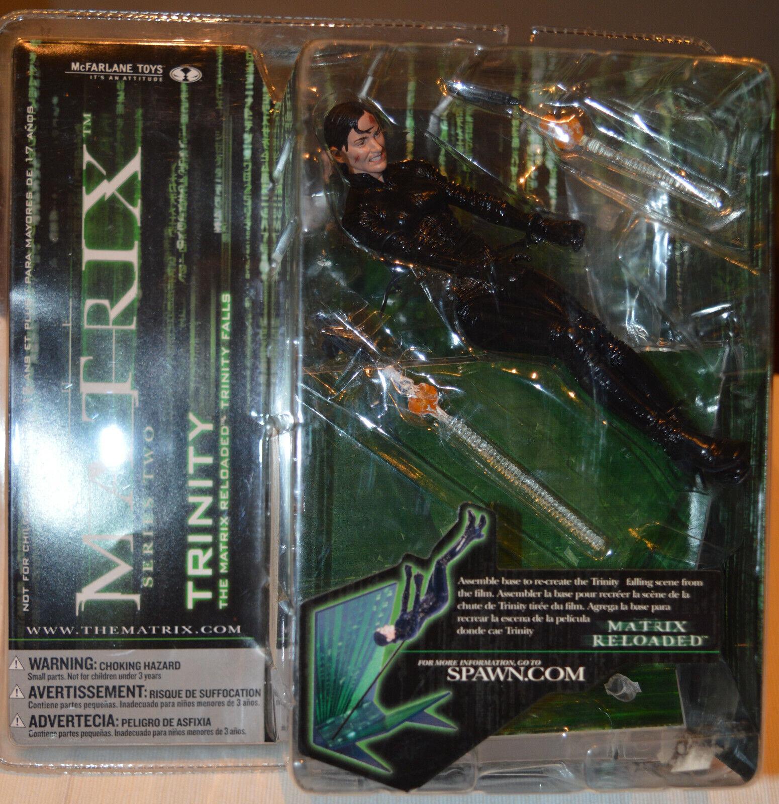 Mcfarlane azione cifra Trinity  serie 2 The Matrix  edizione limitata a caldo