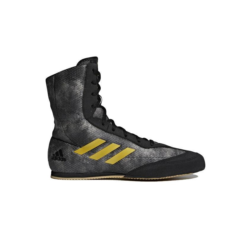 Adidas Box Schwein Plus Boxer Stiefel Schwarz Sparring Training Schuhe