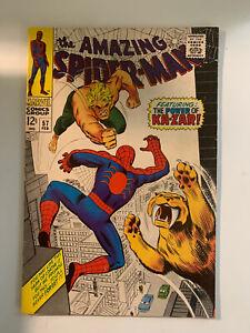 AMAZING-SPIDER-MAN-57-7-5-VF-Condition-KA-ZAR-amp-ZABU-APP