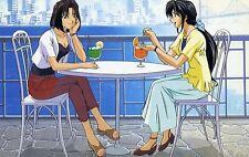 Neon Genesis Evangelion Ansichtskarte Zeichentrick Japan Anime 1999 Animedia