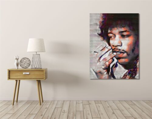 JIMI HENDRIX GUITARIST ROCK AND ROLL ICON ART PRINT POSTER OIL PAINTING LLFF0086