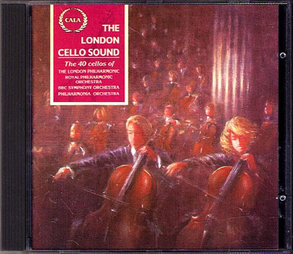 THE LONDON CELLO SOUND 40 Cellos GEOFFREY SIMOM CALA CD Greensleeves The Swan