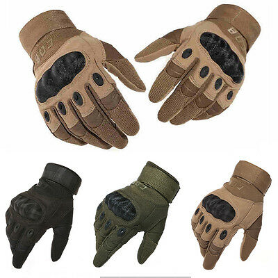 Military Tactical Full Finger Gloves Outdoor Sports Slip-Resistant Combat Gloves