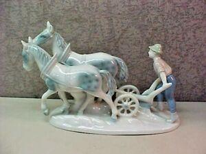 039-GEROLD-PORZELLAN-034-WEST-GERMANY-BAVARIA-HORSES-FARM-BOY-FIGURINE-FINE-CHINA