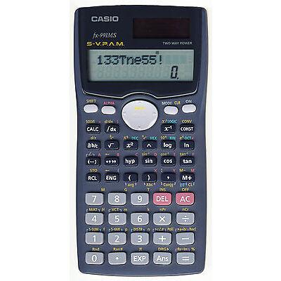 Casio FX-991MS Scientific Calculator 3 Year Warranty