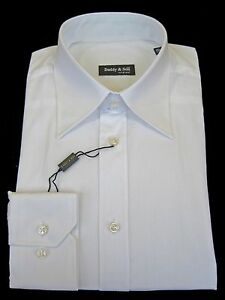 Shirt - Dress - Men's - Cotton - Italian - White  - Imported From Italy
