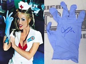 glove - Details about Janine Lindemulder Signed Personally Worn Glove BAS COA Blink  182 Porn Autograph