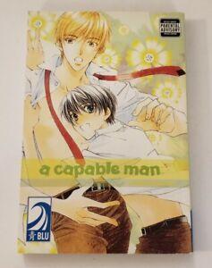 A Capable Man (Yaoi) English BLU Manga by Hinako Takanaga Rare OOP Free Ship 🔥