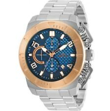 Invicta 30758 Men's Pro Diver Two Tone Case Blue Dial Chronograph Watch