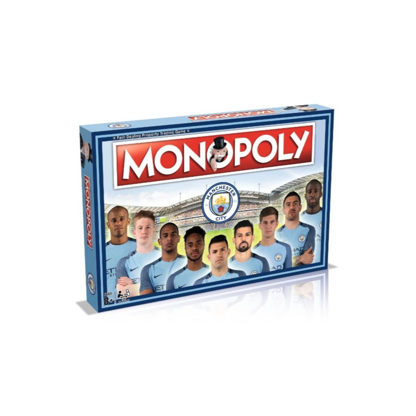 Monopoly Manchester City Edizione Gioco da Tavolo Merchandising Ufficiale