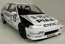 Triple 9 1/18 escala 1991 Honda Civic EF-9 Piaa 1991 #15 coche modelo de resina fundido Sato