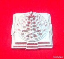 Shri Yantra / Meru Shree Yantra - Made in Pure Parad / Mercury - 1.8 inch- 275gm