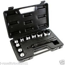 HAND HOLLOW STEEL HOLE PUNCH TOOL SET KIT FOR GASKET LEATHER DIE CUTTING CUTTER