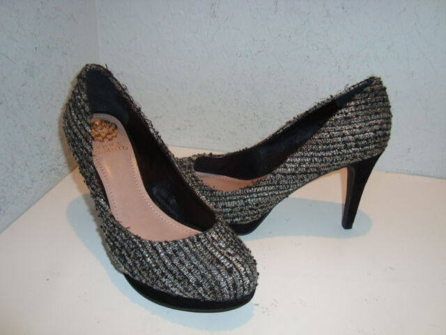 Vince Camuto NWOB Damenschuhe Zella Fabric Multi Farbe Heels Schuhes 7 Medium NEU