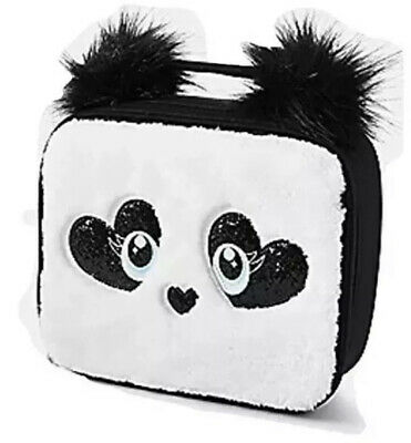 Justice Panda Critter Plush Lunch Tote Lunchbox 8821172500