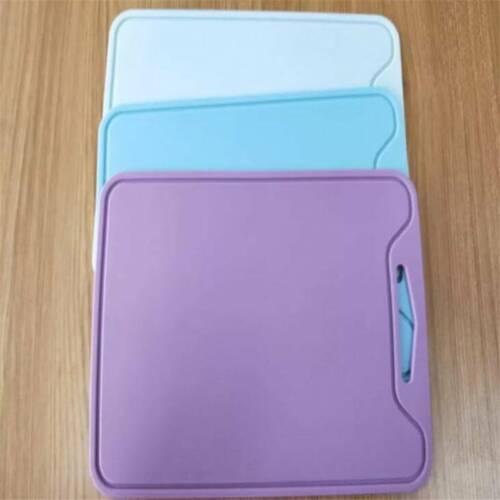 Flexible Kitchen Tool Silicone Board Food Grade Chopping Kitchen Light Blue YI