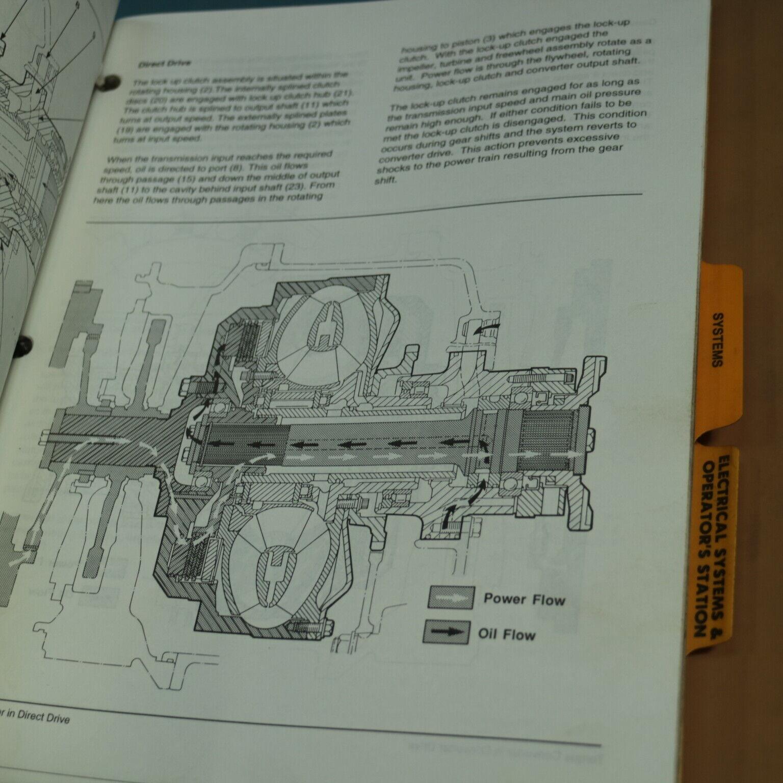 CAT D350e & D400e Articulated Trucks Service Manual W/ Schematics - SENR8675