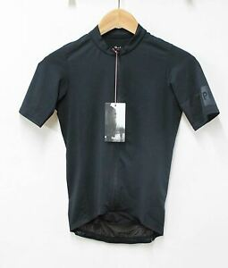 RAPHA-Men-039-s-Pro-Team-Midweight-Black-Short-Sleeve-Cycling-Jersey-Size-XS-NEW