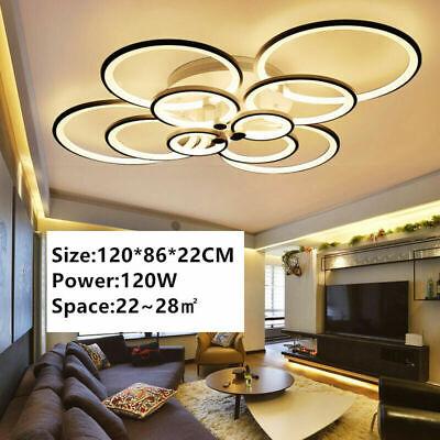 Led Chandelier Living Dining Room Bedroom Lamp Foyer Large Acrylic Ceiling Light Ebay