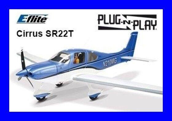 Eflite E-flite Cirrus SR22T 1.5M PNP Plug In Play Park Flyer RC Airplane EFL5975