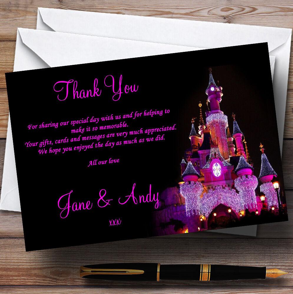 Carnaval Noel Château Rose Mariage Personnalisé cartes cartes Personnalisé remercieHommes t afcee6