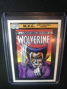 1990 Marvel Universe #133 Limited Series #1 Wolverine MINT Condition