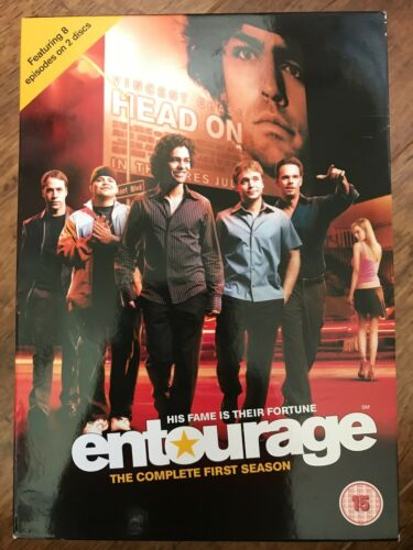 1 of 1 - ENTOURAGE - SEASON 1 HBO Film Industry Comedy Series UK DVD / Slipcover