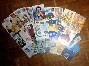 1973 MAXIMUM CARD ITALIA ANNATA 1973 LOTTO 27 PEZZI NUOVO - Italia - 1973 MAXIMUM CARD ITALIA ANNATA 1973 LOTTO 27 PEZZI NUOVO - Italia