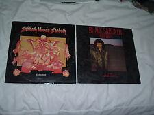 BLACK SABBATH  Sabbath Bloody Sabbath + Seventh Star 2LP lot ORIGINAL US press