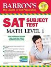 SAT Math Level 1 by Ira K. Wolf (Mixed media product, 2016)