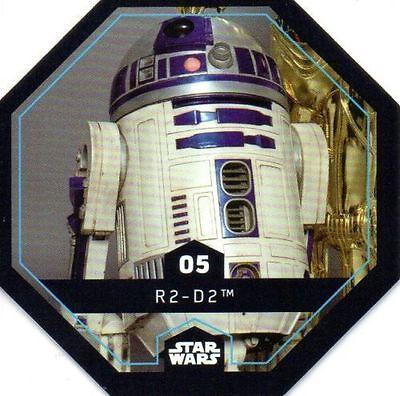 Star Wars Cosmic shells de Rewe shell número 2 han solo