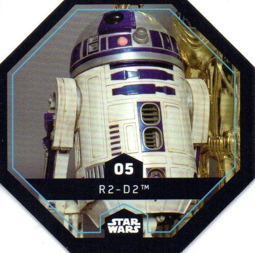 Star Wars Cosmic shells de Rewe shell número 5 r2-d2