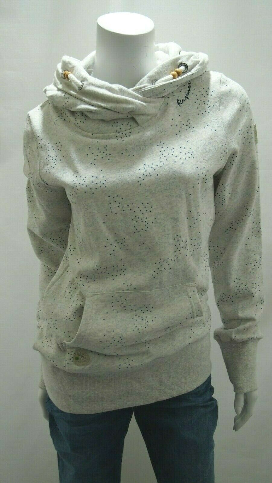Ragwear Damen Sweatshirt Angelina Angelina Angelina A Organic Hoodie Kapuze Sweatshirt Punkte Neu | Förderung  | Exquisite (in) Verarbeitung  | Erste Gruppe von Kunden  | Neu  | Economy  c2f393