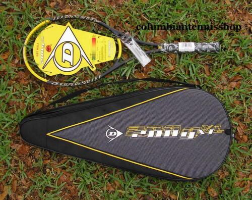 2 Neuf Dunlop 200 G XL Hot Melt 95 200 g Raquette De Tennis Deux Étui Cadenas 4 1//4