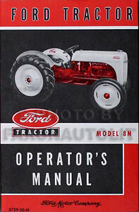 Ford-Tractor-Model-8N-Operator-Manual-1948-1952-Operators-Guide-Book