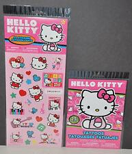 6e540cb58 HELLO KITTY PARTY FAVORS SANRIO STICKERS TATTOOS SET 25 STICKERS 25+ GIRLS  craft