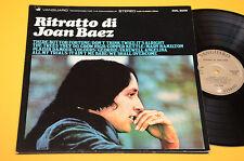 JOAN BAEZ LP RITRATTO 1°STAMPA ORIGINALE ITLAIA 1970 EX COPERTINA APRIBILE