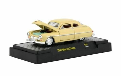 embalaje original 1949 Mercury Coupé Yellow crema *** m2 machines 1:64 nuevo