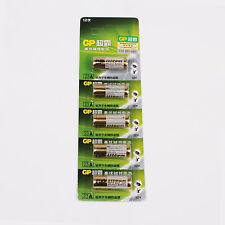5x GP A23 12v Baterías 23ae 23a MN21 E23A K23A, Alcalino
