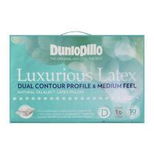GENUINE DUNLOPILLO 2 Pack Classic Medium Profile /& Feel Latex Pillow RRP $279.95