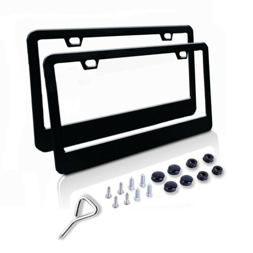 Stainless Steel license plate frame front and back frames,fasteners include