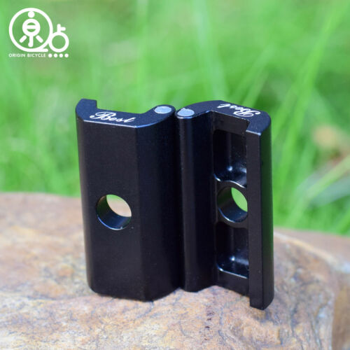 Details about  /Aluminium Magnet Lightweight Hinge Clamp Plate Set for Brompton Bicycle