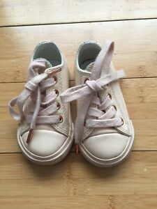 CONVERSE ALL STAR OX LEATHER INFANT